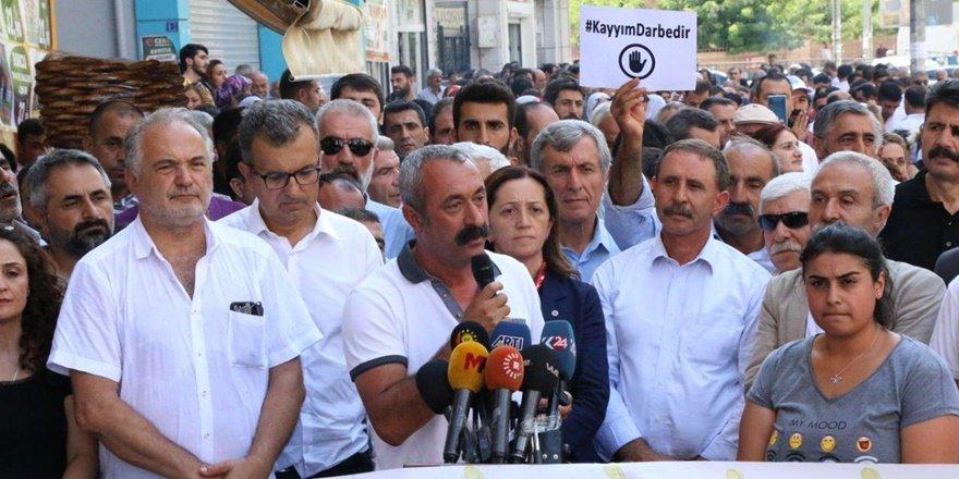 DİSK, KESK, TTB ve TMMOB başkanları Diyarbakır'da