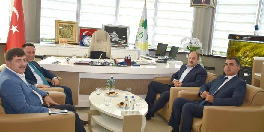 AB Uyum Komisyonu başkanı Gülpınar'dan Beyoğlu'na ziyaret