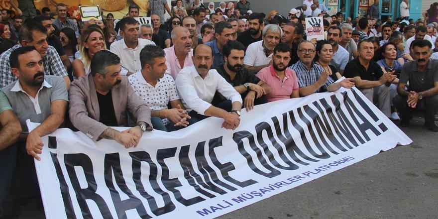 Diyarbakır'da kayyum protestolarında 11. gün