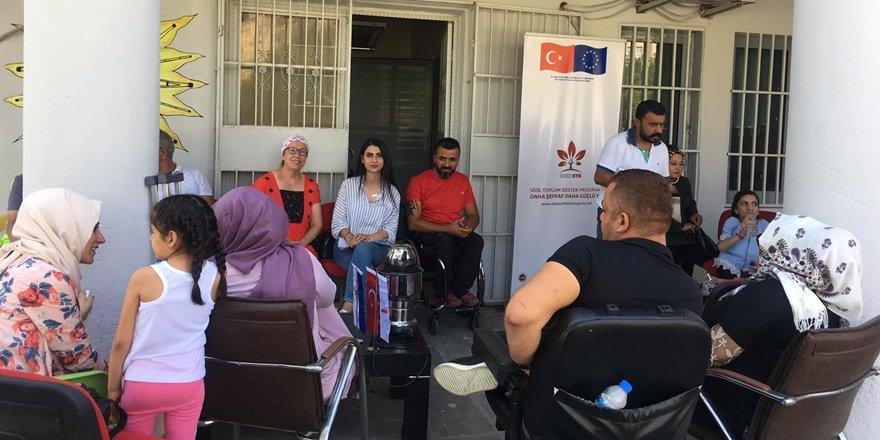 GAP Engelliler Derneği, tekerlekli sandalye yardımı bekliyor