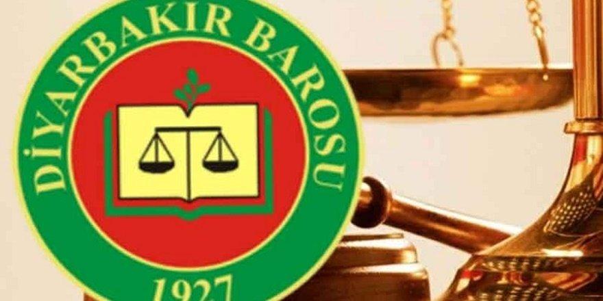 Diyarbakır Barosu'ndan 1 Eylül mesajı