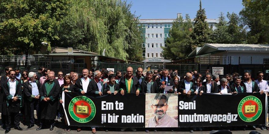 Diyarbakır Barosu'ndan hükümete çağrı:  Yargı üzerindeki baskıyı kaldırın