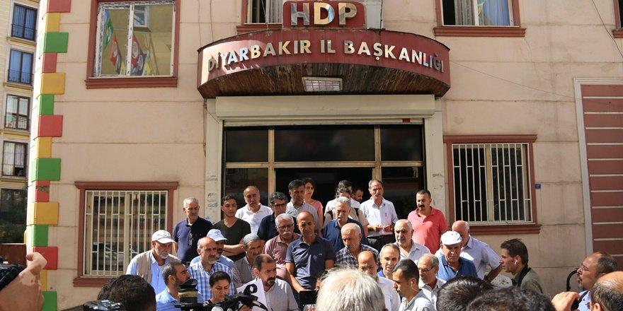 HDP'li Ceylan: Aileler yönlendiriliyor