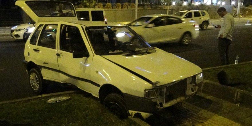 Diyarbakır'da iki ayrı kazada iki yaralı