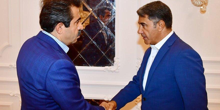 Ticaret Borsası'ndan Vali Güzeloğlu'na destek ziyareti