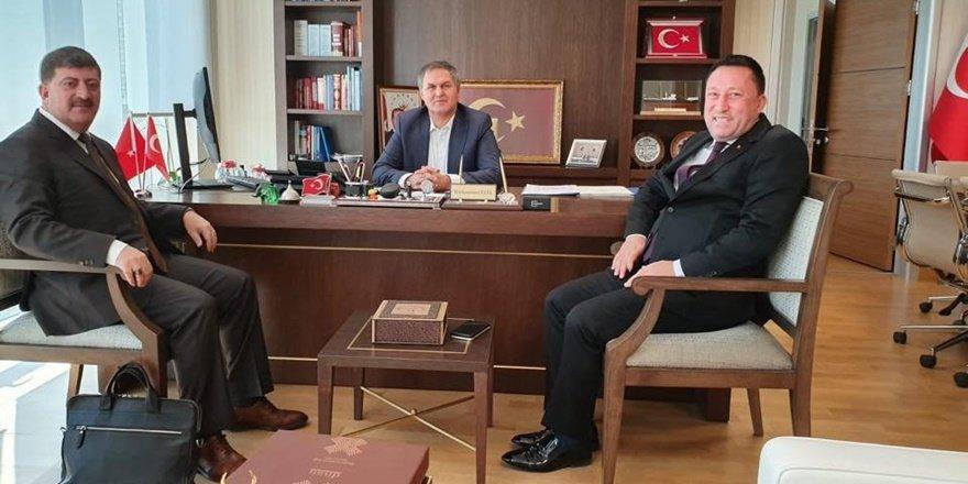 Bağlar Belediyesi'nden Ankara'da önemli görüşmeler