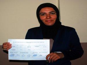 Bitlis Belediye Başkanı Olan, mazbatasını aldı