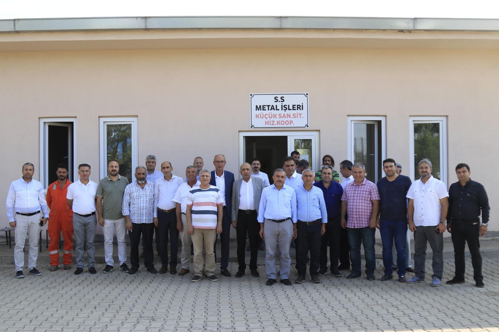 DTSO Metal İşler Sanayi Sitesi işletmeleriyle bir araya geldi