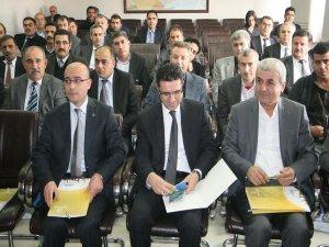 KKA Silvan'da bilgilendirme toplantısı düzenledi