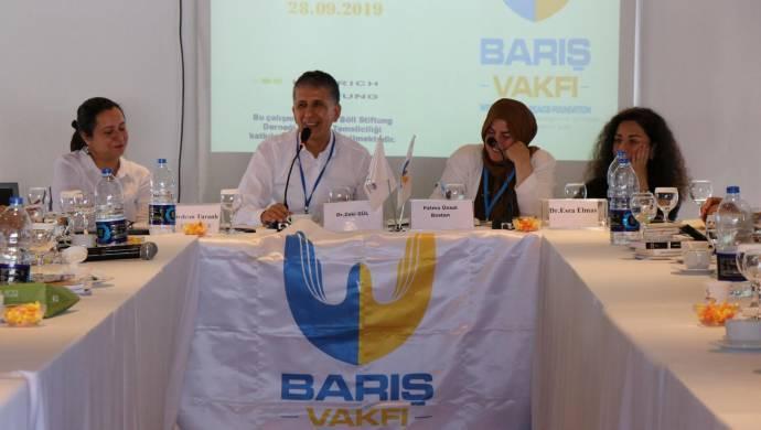 İzmir'de barış toplantısı