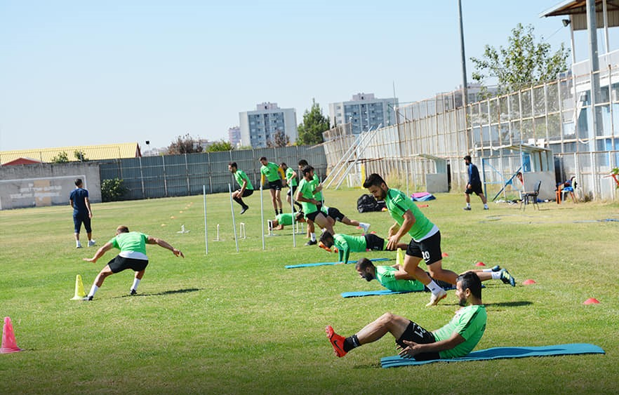 Diyarbekirspor'da kupa mesaisi devam ediyor
