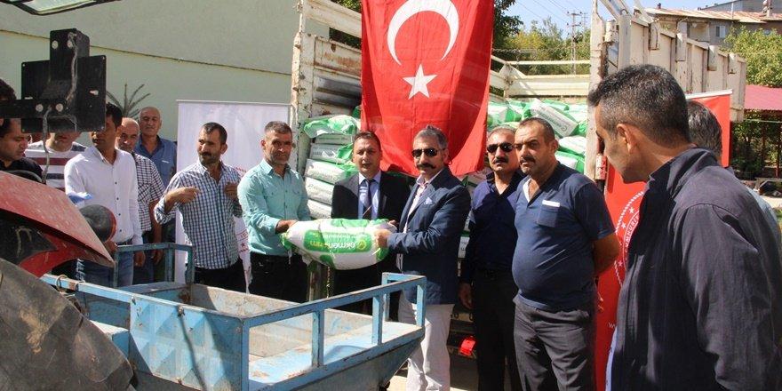 Tunceli'de 54 çiftçiye yem tohumu dağıtımı