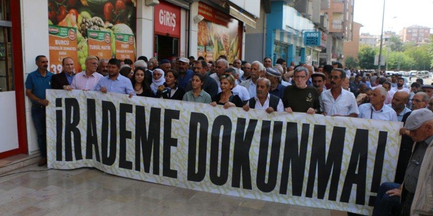 Diyarbakır'daki kayyum protestoları 52. Gününde