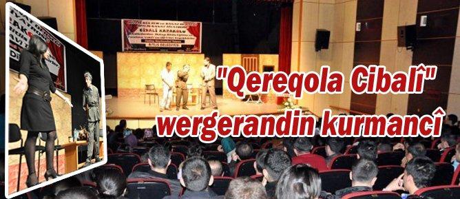 """""""Qereqola Cibalî"""" wergerandin kurmancî"""