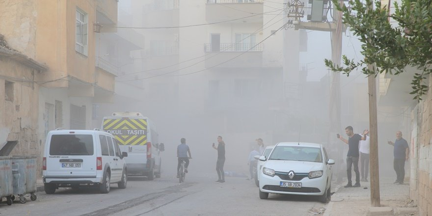 Mardin Nusaybin'de havanlı saldırı