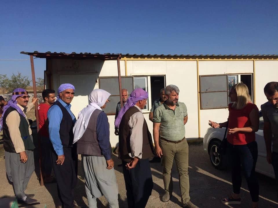 Ergani Belediye Başkanı Kaya'dan Köy Ziyareti
