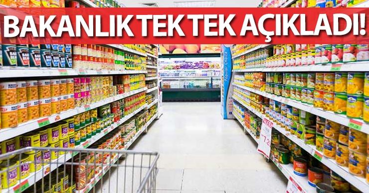 Bakanlık hileli ürün listesini açıkladı, listede Diyarbakır'da var!