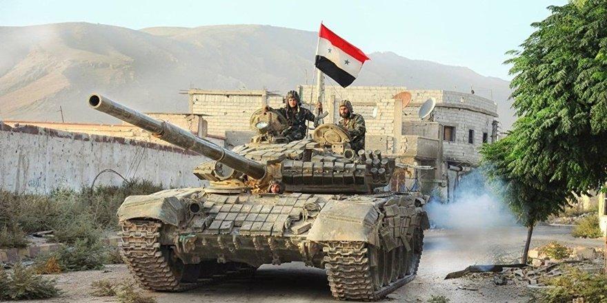 Suriye rejim güçleri, Ayn İsa'ya girdi