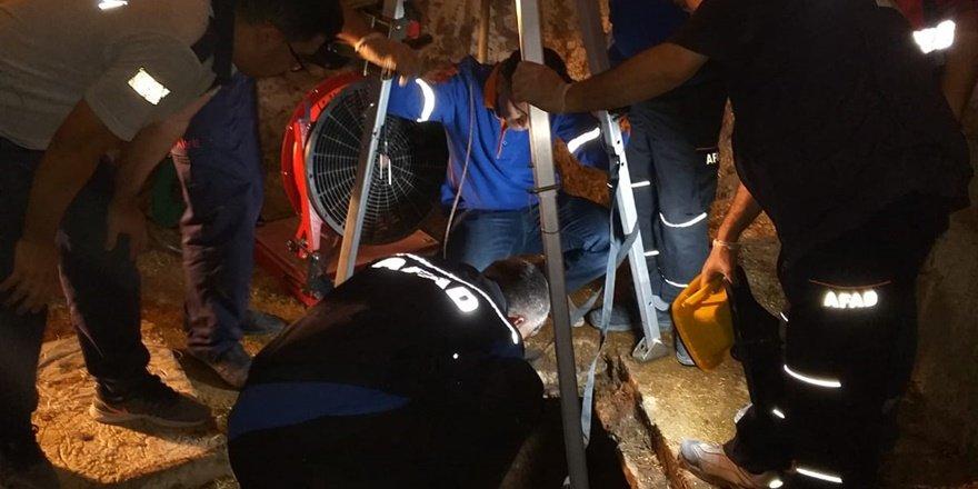 Kuyuya inen 3 kişi gazdan zehirlenerek öldü