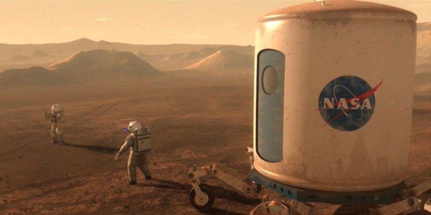 Mars'ta yaşam olduğunu saklamışlar