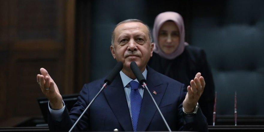 Erdoğan: Bizim tek derdimiz YPG/PYD'yi buradan çıkarmalarıdır