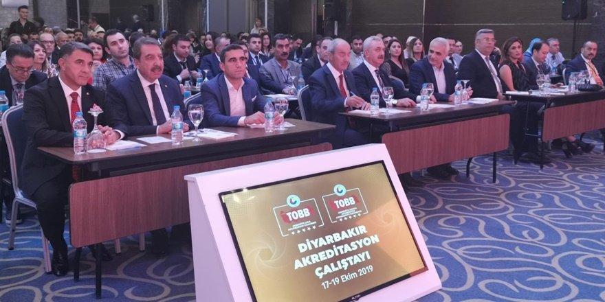 269 oda ve borsa genel sekreteri Diyarbakır'da buluştu
