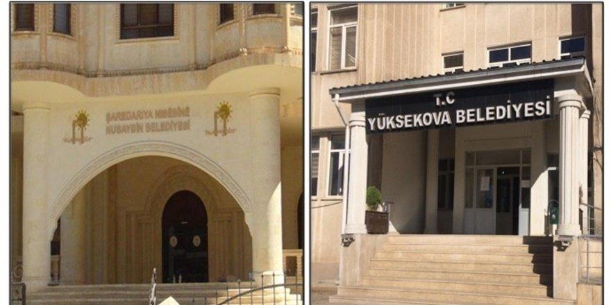 Hakkari ve Yükseova Belediyelerine kayyum atandı