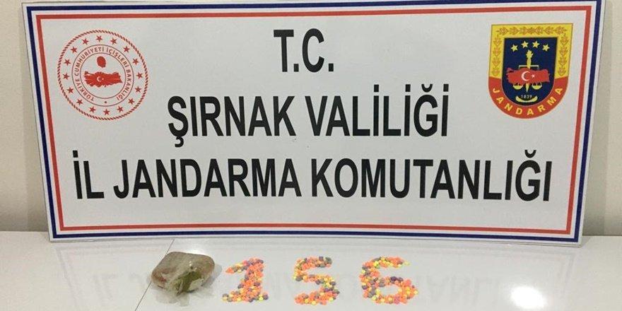Şırnak'ta narkotik ve kaçakçılık operasyonları