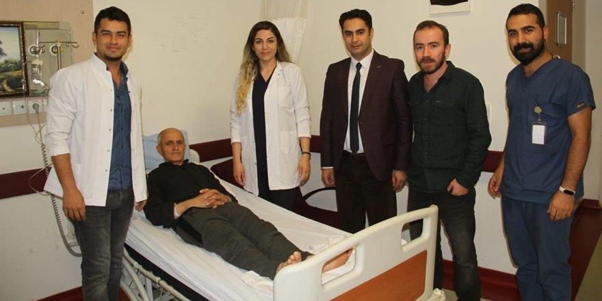Şemdinli'de sağlık alanında bir ilk