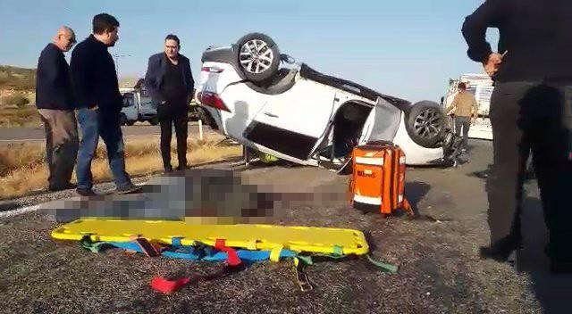 Siirt'te trafik kazası: 1 ölü, 2 yaralı
