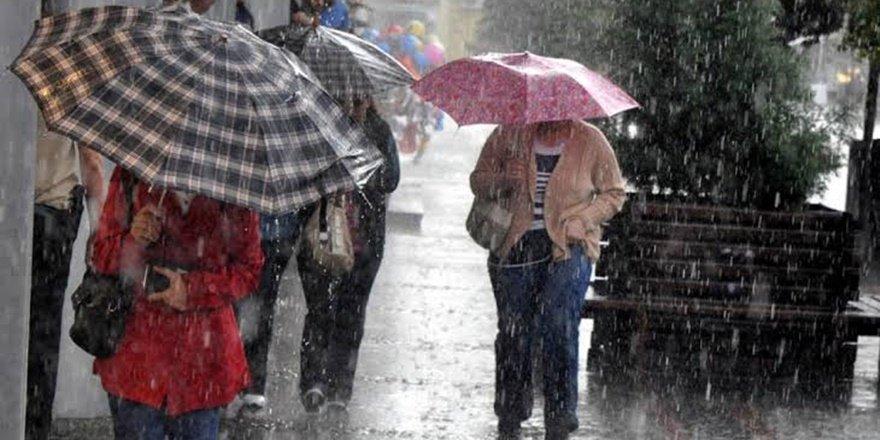 Meteorolojiden sağanak ve sel uyarısı