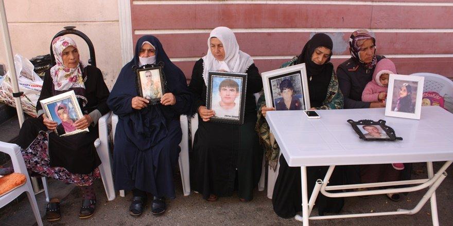 HDP önündeki ailelerin oturma eyleminde 58'inci gün