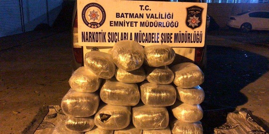 Batman'da narkotik operasyonu