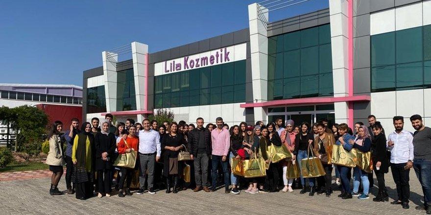 Teknik Bilimler Meslek Yüksekokulu öğrencilerinden kozmetik fabrikasına gezi