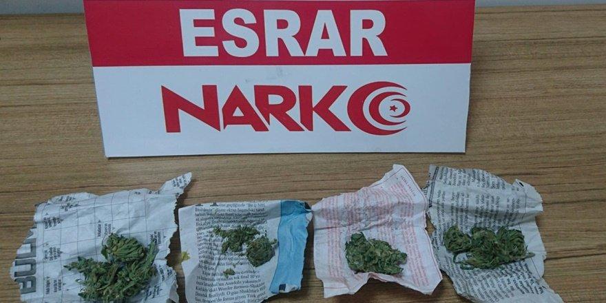 Elazığ'da narkotik operasyonu: 3 tutuklama