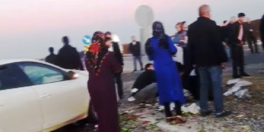 VİDEO - Silvan'da feci kaza: 2'si ağır 6 yaralı