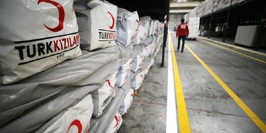 Türkiye'den dışarıya, hazineden 100 bin ton un yardımı
