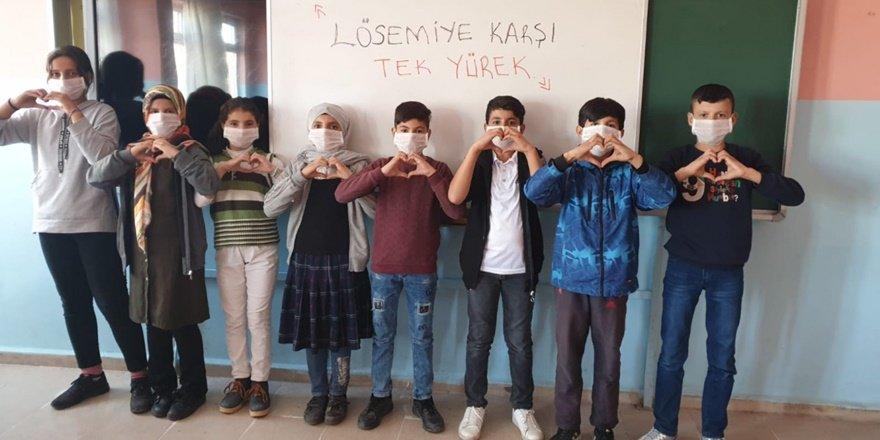 """Güleçoba'da """"Maskemi Takarım Farkındalık Yaratırım"""" etkinliği"""