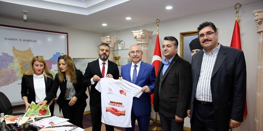 Mardin Valisi'nden organ bağışı