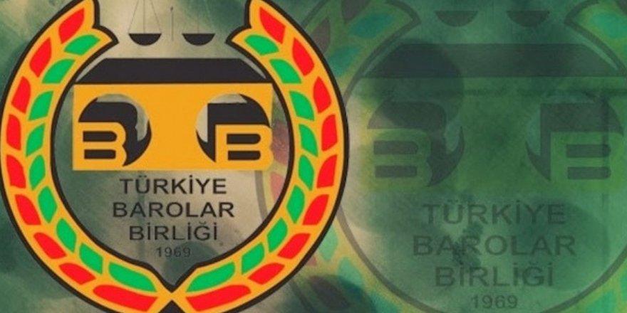 12 Baro'dan TBB'ye Olağanüstü Genel kurul Çağrısı