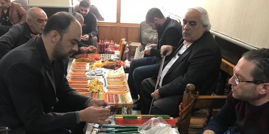 Tespih tutkunları Diyarbakır'da buluştu