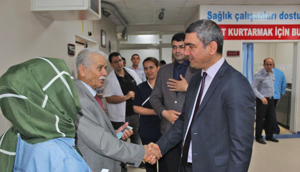 Başhekim Özkul: Hastaneyi yeni bir vizyonla halkın hizmetine sunacağız