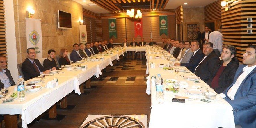 Diyarbakır çiftçisinin sorunları istişare edildi