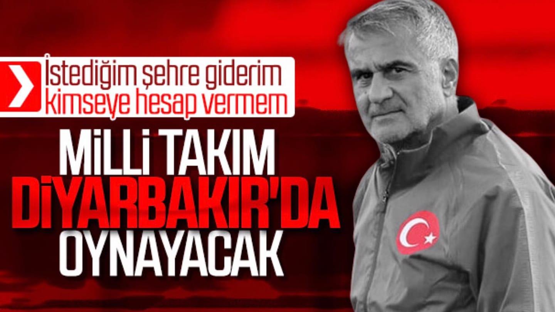 Diyarbakır'da milli maç heyecanı