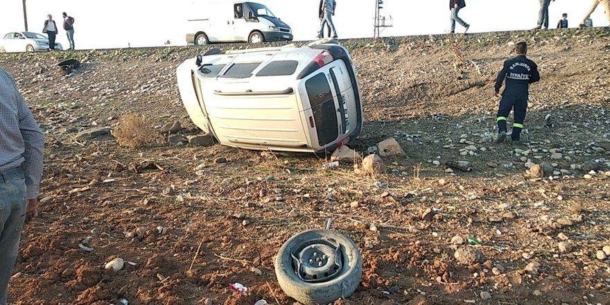 Kopan teker kazaya yol açtı: 4 yaralı