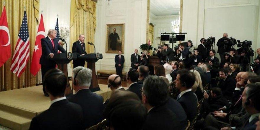 Cumhurbaşkanı Erdoğan, Trump görüşmesi