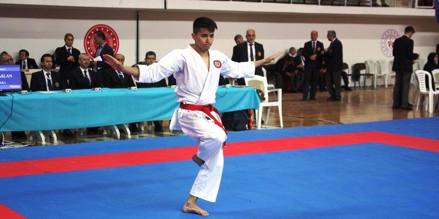 Diyarbakır'da Karate Şampiyonası