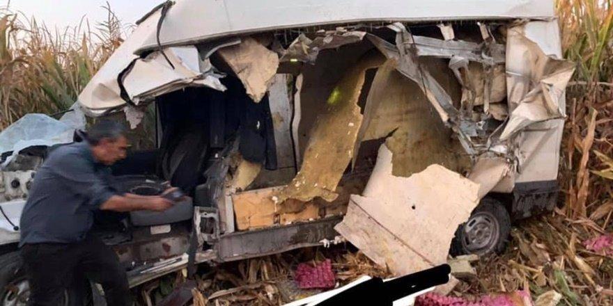 Urfa Ceylanpınar'da kaza: 1 ölü