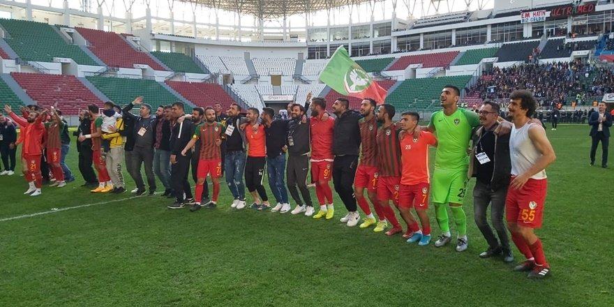 TFF 2. Lig'de Amedspor-Afyonsor kapışması