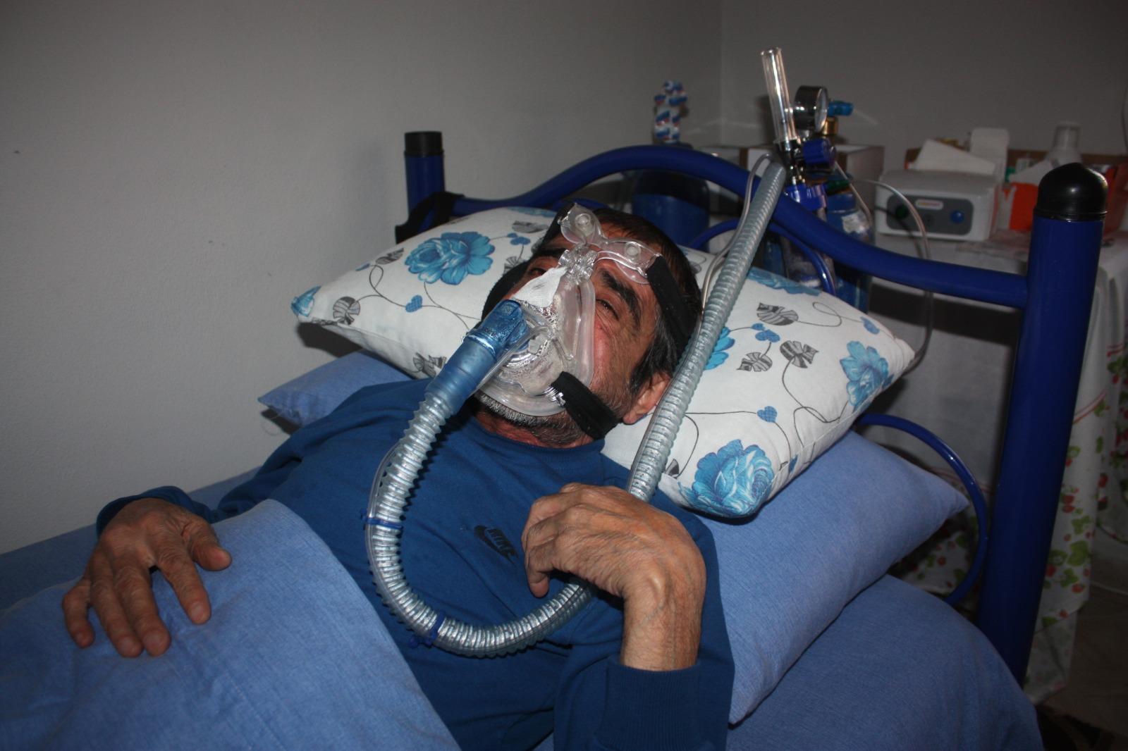 Diyarbakırlı KOAH hastası akciğer nakli olmazsa hayatını kaybedecek